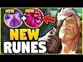 NEW RUNES + GAREN BUFFS = UNKITEABLE ASSASSIN! NEW GAREN TOP GAMEPLAY! - League of Legends
