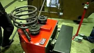 Трехвалковый гибочный станок СГ-60/3РИ производства