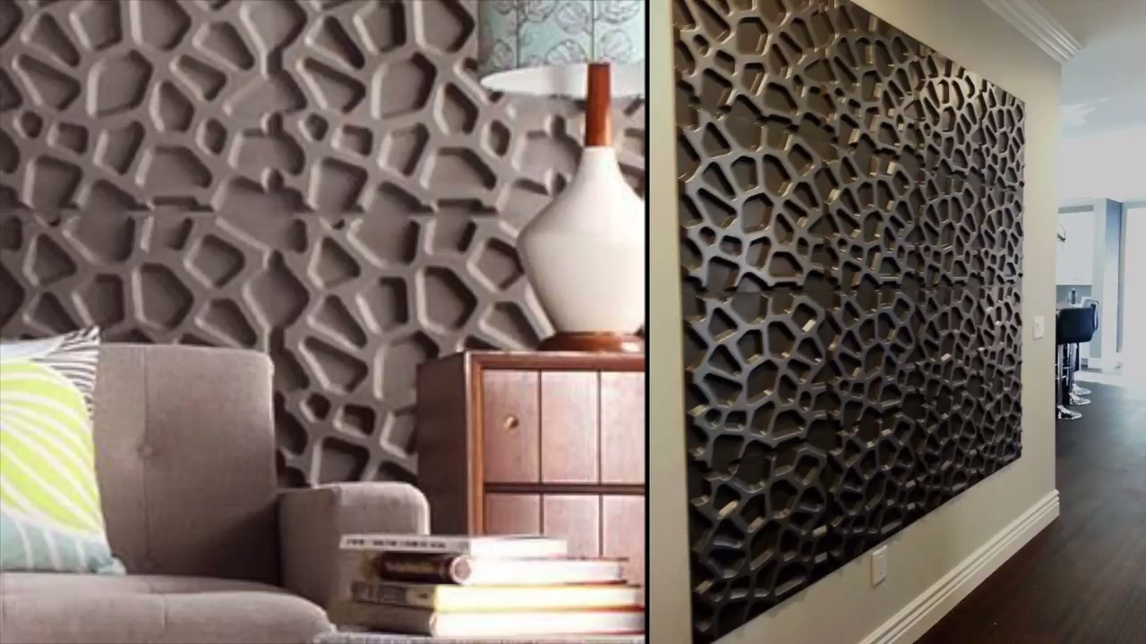 5 steps to enhance your walls using 3d wall panels youtube for 3d wall covering