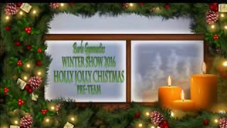 Burlo Gymnastics, Winter Show 2016, Holly Jolly Christmas, Pre-team