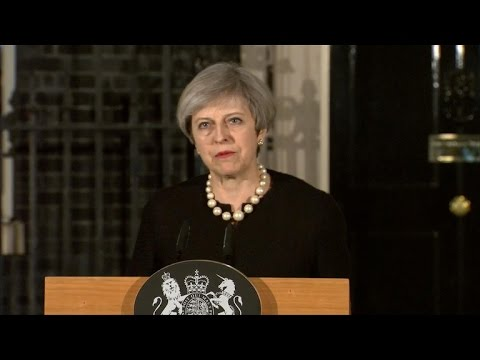 British PM Theresa May condemns Parliament attack