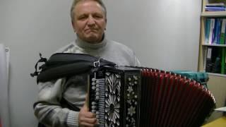 Дом на горе (Ирина Круг) на гармони от Павла Уханова.