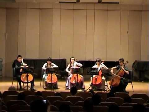 Georges Bizet,Cello Quintet, Carmen Fantasy (Zexun...