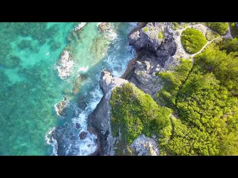 Bermuda from the sky: Smiths Parish @ Spittal Pond