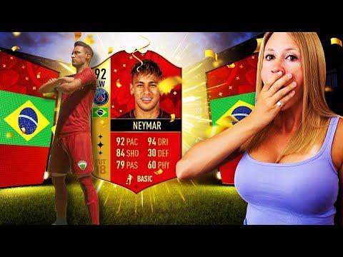 I PACKED NEYMAR!! FIFA 18 125K LIGHTNING ROUND PACKS!