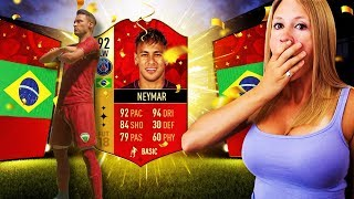 I PACKED NEYMAR!! FIFA 18 125K LIGHTNING ROUND PACKS!