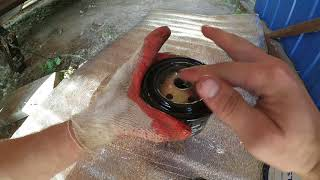 замена масла в двигателе Лада Калина
