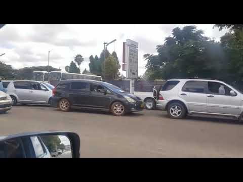 Zimbabwe Lamborghini In A Fuel Queue 2019 Youtube