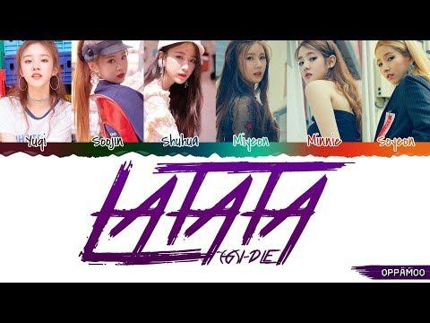 (G)I-DLE ((여자)아이들) - 'LATATA' Lyrics (Color Coded Han-Rom)