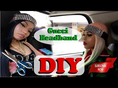 ♦☆♦ Gucci Diamond Headband DIY ♦☆♦