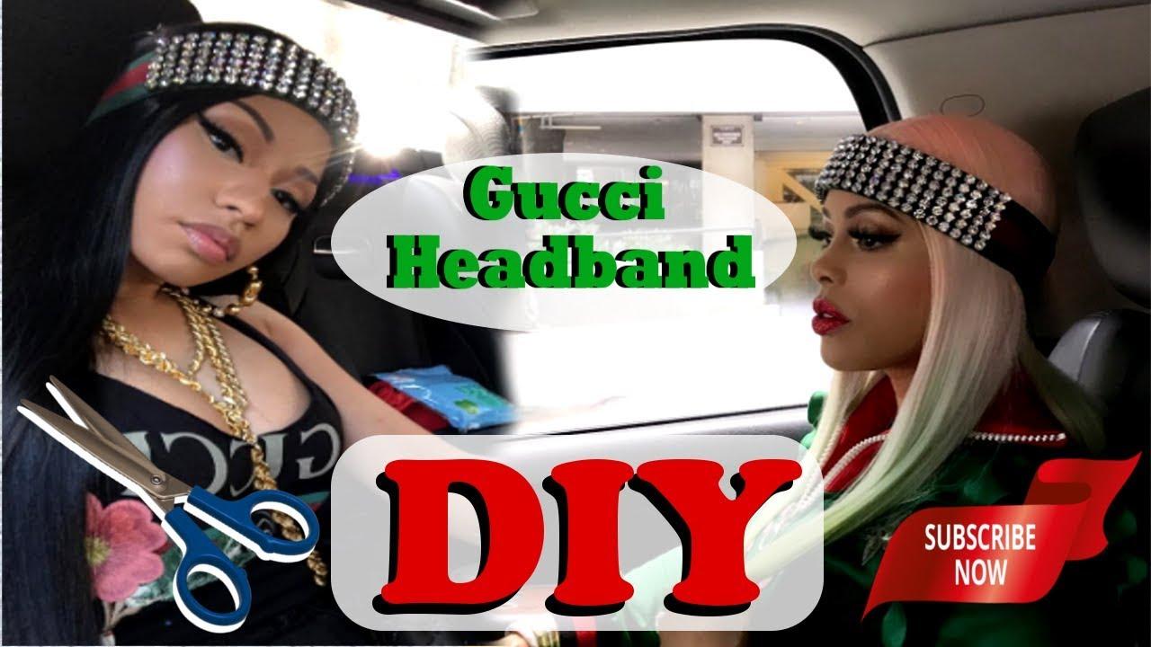 ♢☆♢ Gucci Diamond Headband DIY ♢☆♢ - YouTube 03024659a16
