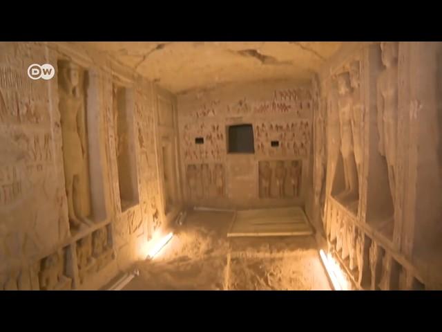 Descubren tumba de más de 4 mil años