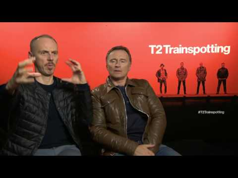 """Interview: Ewen Bremner & Robert Carlyle are back for """"T2 Trainspotting"""""""