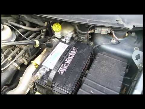 2001 to 2007 Chrysler town and country bad idle and stalling