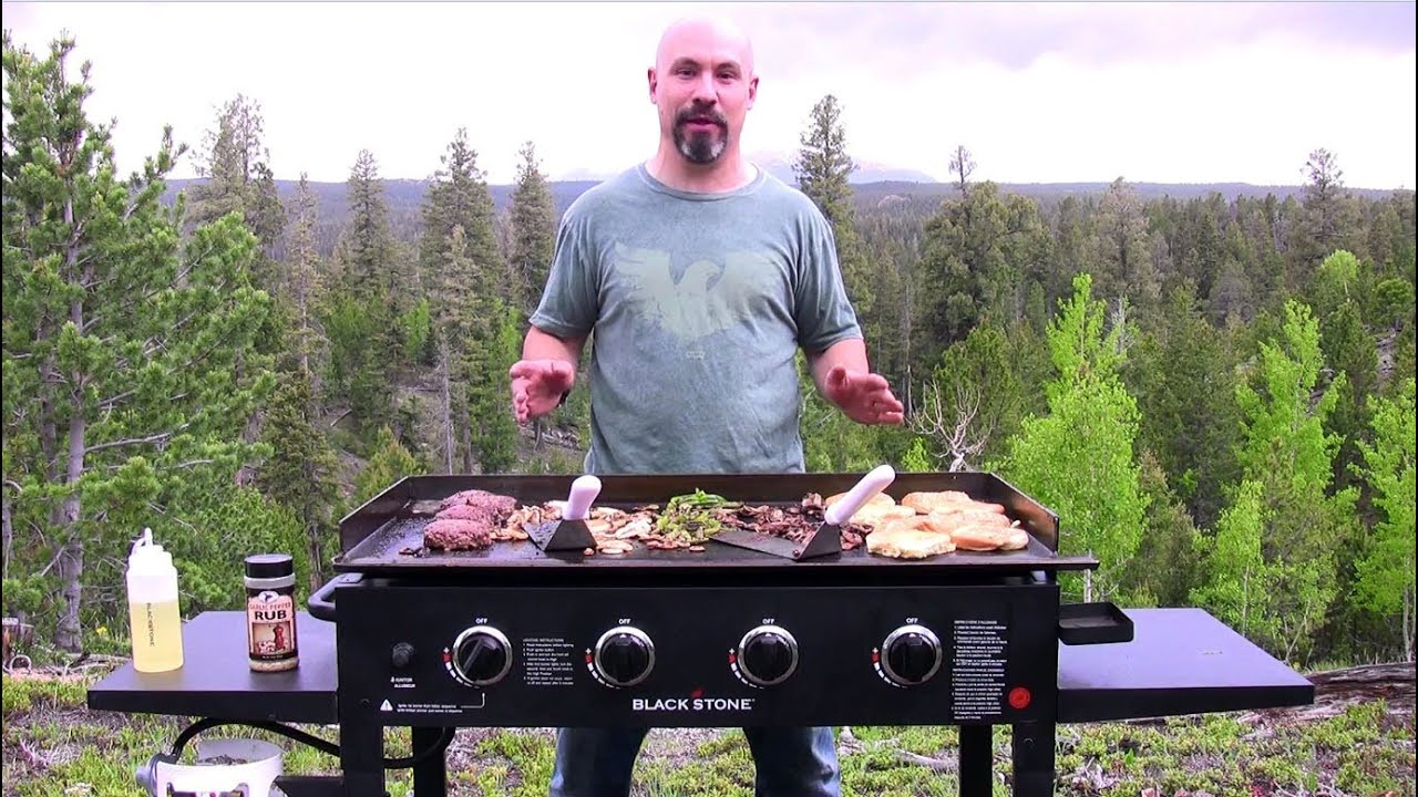 """Blackstone 36"""" Griddle Cooking Station Experience  Youtube"""