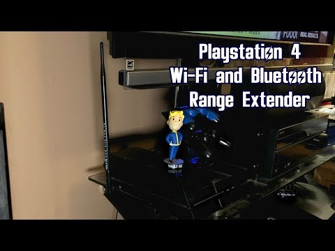 Playstation 4  WiFi and Bluetooth Range Extender