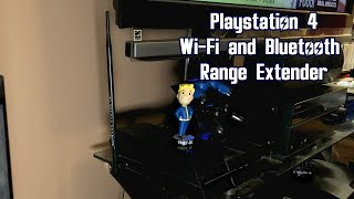 Playstation 4  WiFi and Bluetooth Range Extender (Yes, it works on PS4 Pro. Read description)