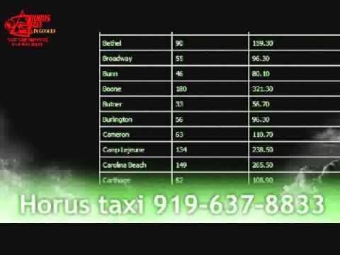 taxi Durham Cab Horus Taxi flat rates Airport taxi and shuttle around the clock taxi services