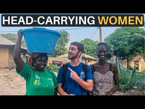The Art of Head-Carrying WOMEN (Guinea-Bissau)