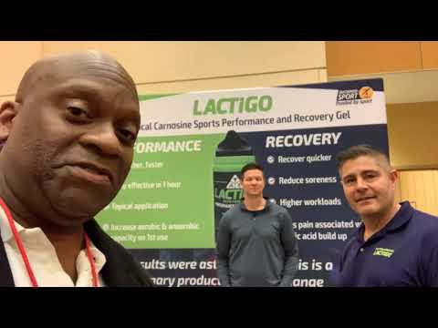 Lactigo Sports Performance Recovery Gel At 2020 NFL Combine - Lactigo.com