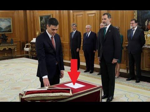 """Análisis de las """"REVELADORAS"""" palabras de Pedro Sánchez en el juramento ante Felipe VI"""