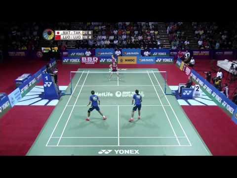M. Matsutomo/A. Takahashi vs Luo Ying/Luo Yu | WD F Match 1 - YONEX Sunrise India Open 2015