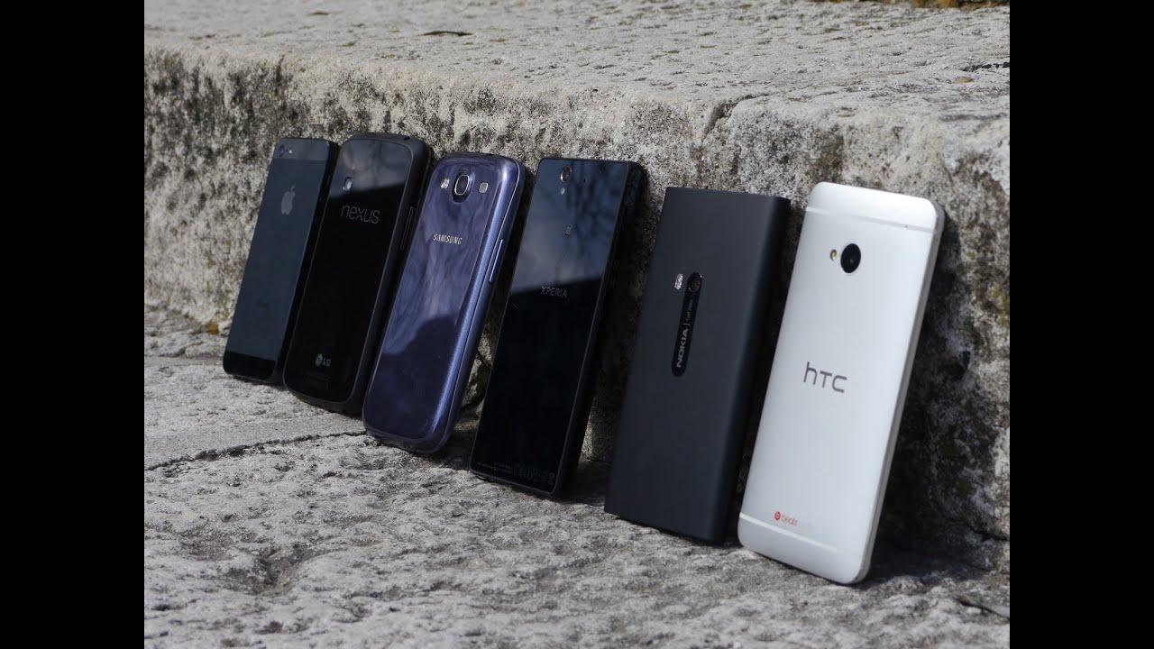Xperia Z Vs Galaxy S4 Vs Iphone 5 Camera comparis...