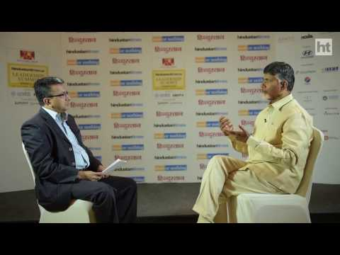 N. Chandrababu Naidu on bifurcation and the future of his state