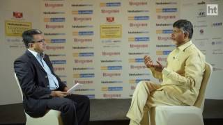 N. Chandrababu Naidu on bifurcation and the future of his state