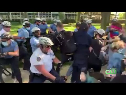 DA: Philadelphia Staff Inspector Facing Charges For Beating Protester With Baton