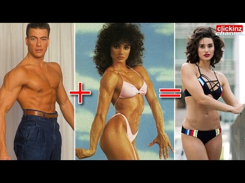 Bianca Bree daughter of Jean Claude Van Damme & Gladys Portugues FACEBOOK VIRAL Training Kick Hija