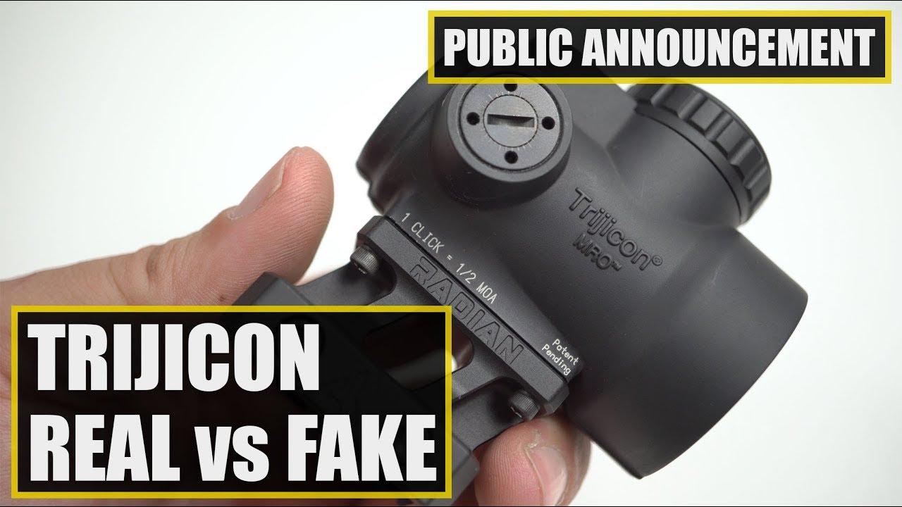 Fake sights