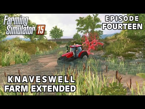 Let's Play Farming Simulator 2015   Knaveswell Farm Extended   Episode 14