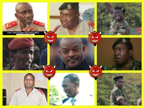 BURUNDI : SECRETS ET CHRONOLOGIE D'UN COUP D'ETAT ENIGMATIQUE...PILE OU FACE !!!