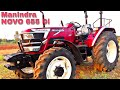 Mahindra NOVO 655 DI Tractor Review | Tractor with DgSense Technology