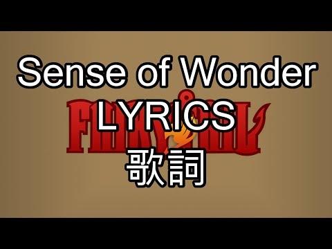 Sense of Wonder Lyrics(JPN, romaji, English) - Fairy Tail OP 2