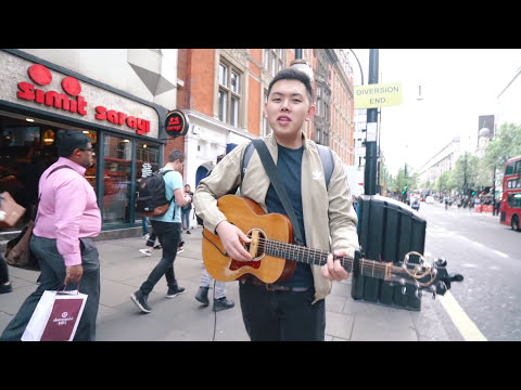 MY FIRST TIME BUSKING ON OXFORD STREET IN LONDON