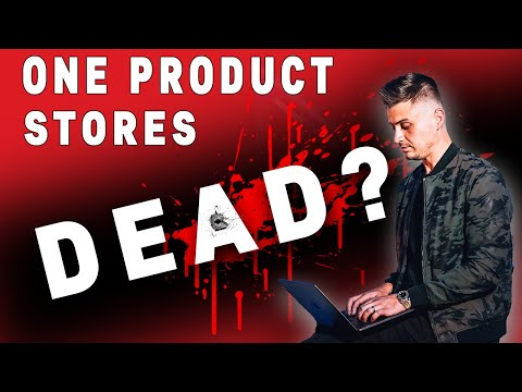 Do ONE Product Shopify Stores REALLY WORK? | One Product Dropshipping Store Review (PRICELESS) thumbnail