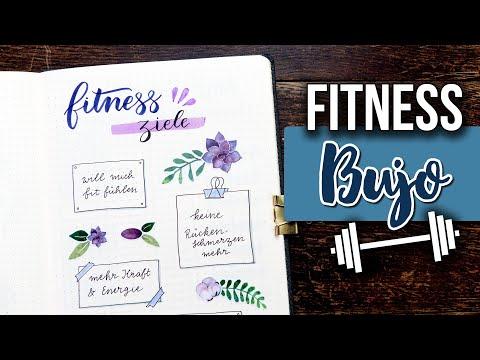 5 Fitness Tracker im Bullet Journal: Endlich dranbleiben!