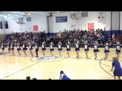 Senior Routine New Hyde Park Memorial High School Spring Pep Rally 2015