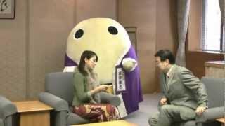和紗 山田知事表敬訪問と府民の方へのメッセージ