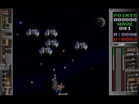 Galactix Pc Ms Dos Dosbox Space Shooter Action Game Shareware