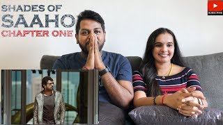 Saaho | Shades Of Saaho Chapter 1 Reaction | Malaysian Indian Couple | Filmy React | English