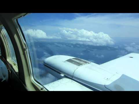 2012 Cessna 402C Flight from San Juan Puerto Rico to Beef Island BVI