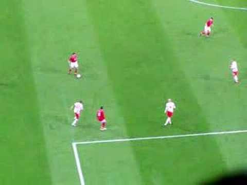 england vs swiss Jenas goal