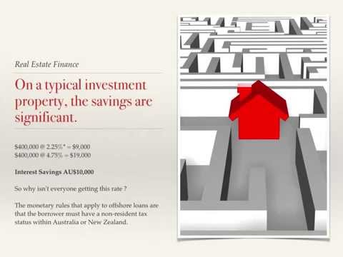 Australia Investment Loan from 1.75%