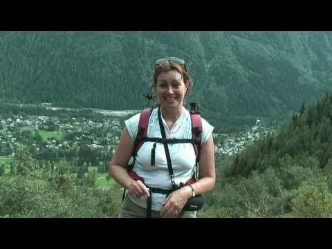 Mini Tour de Mont Blanc walking above Chamonix - video diary