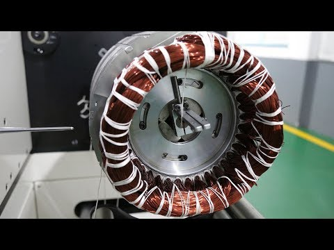 Electric Motor Manufacturing Plant in China