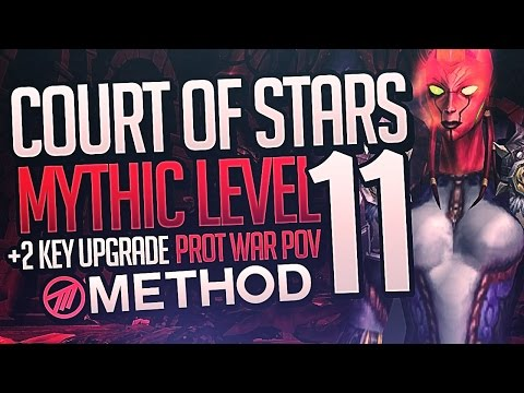 Court of Stars Mythic Level 11 WITH +2 KEY UPGRADE!  - Method Sco Warrior Tank POV