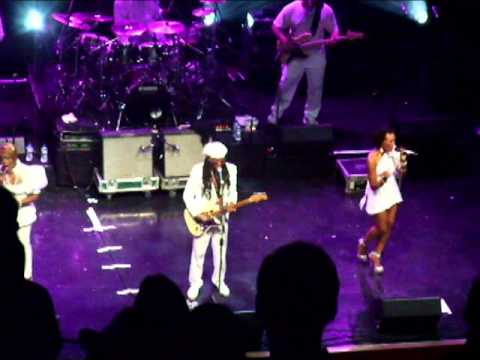 Nile Rogers chic at the Indigo O2